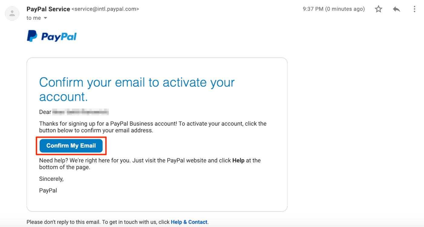 ขั้นตอนที่ 9 - วิธีสมัคร PayPal เพื่อใช้รับเงินจากการขายคอร์สออนไลน์